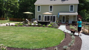 landscape design, backyard, RVA, Central Virginia
