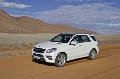 Mercedes-Benz M-Class, ML 250 BlueTEC 4MATIC